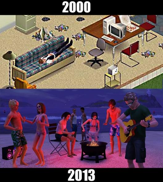 10款經典遊戲的今昔比較圖10