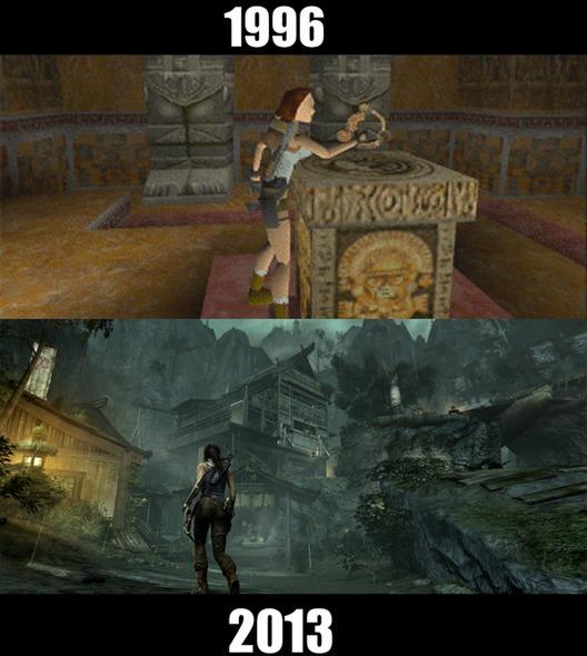 10款經典遊戲的今昔比較圖2