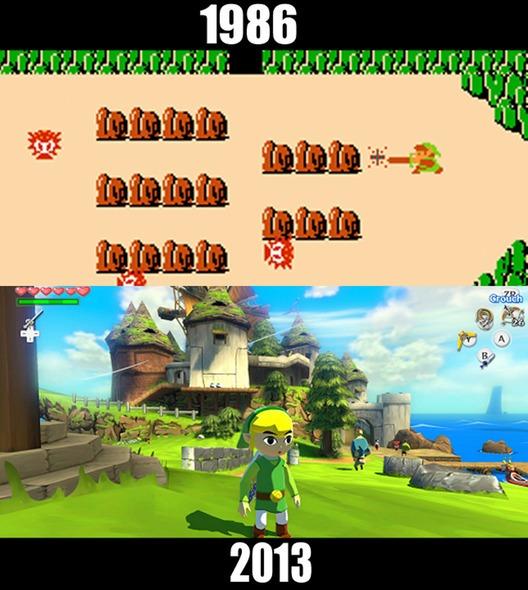 10款經典遊戲的今昔比較圖4