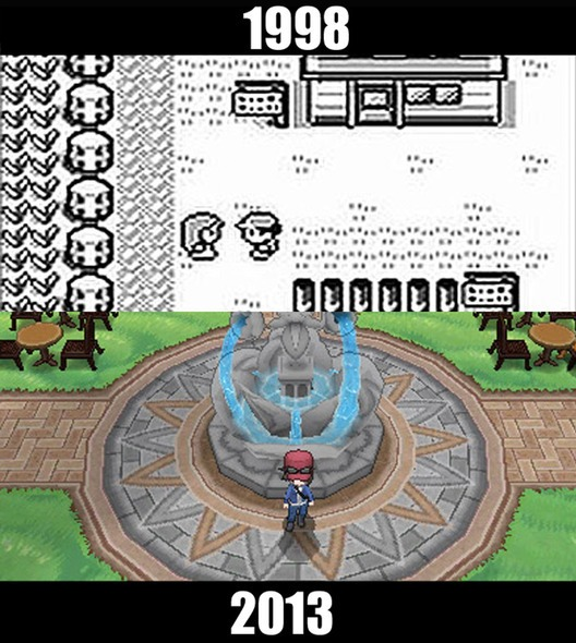 10款經典遊戲的今昔比較圖9