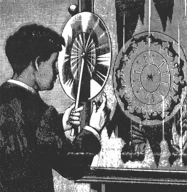 19世紀的詭異圓形卡通8