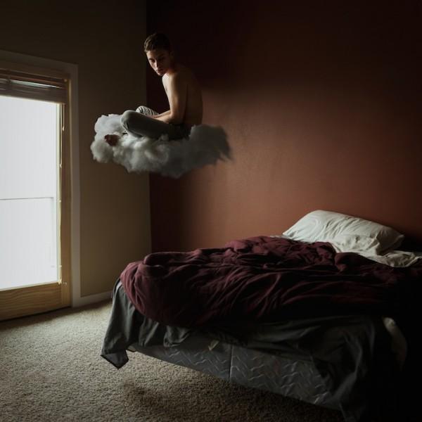 21歲夢幻少年的超現實攝影作品1