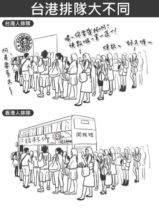 台灣 vs 香港:25個超中肯的差異20