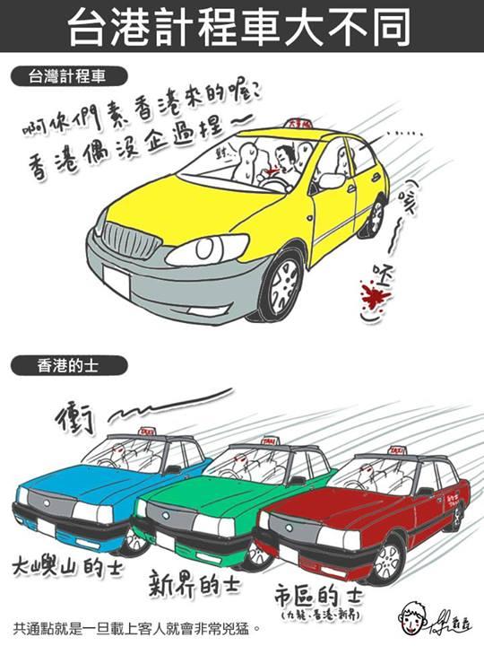 台灣 vs 香港:25個超中肯的差異22