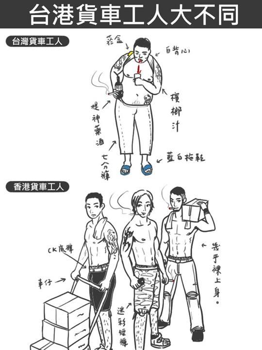 台灣 vs 香港:25個超中肯的差異24
