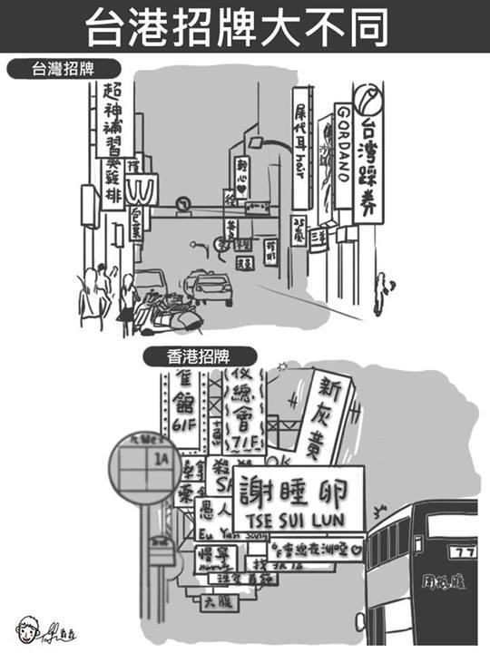 台灣 vs 香港:25個超中肯的差異3