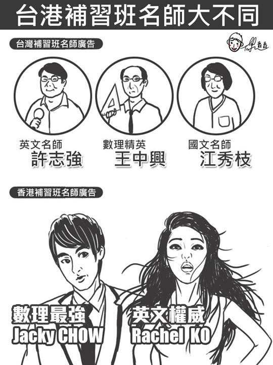 台灣 vs 香港:25個超中肯的差異4