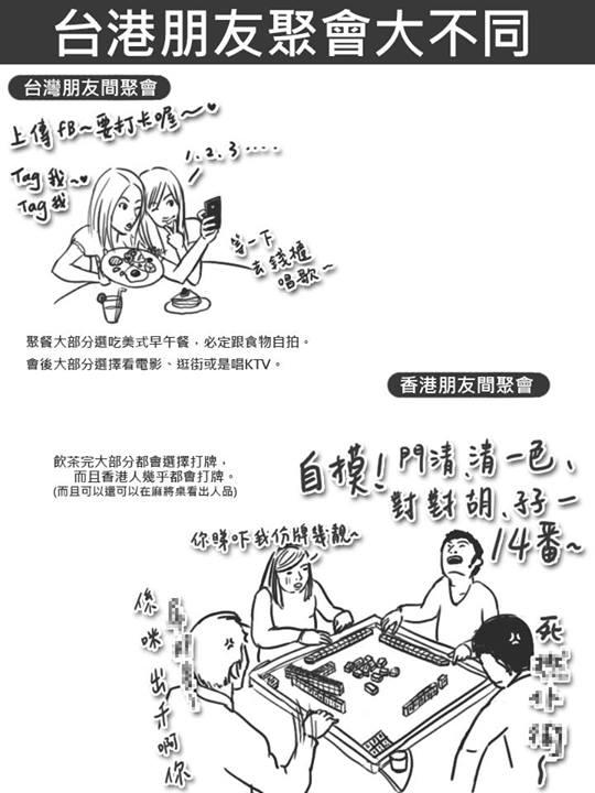台灣 vs 香港:25個超中肯的差異8