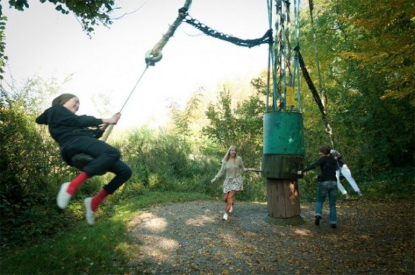 四十年打造森林裡的遊樂園1
