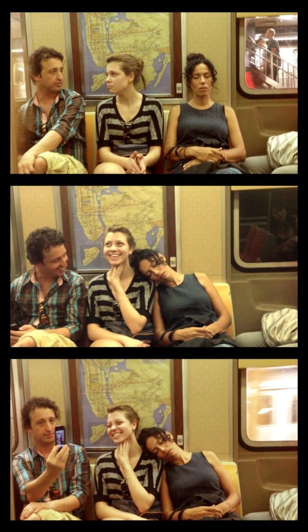 大家對陌生人睡著靠到自己肩膀的反應1