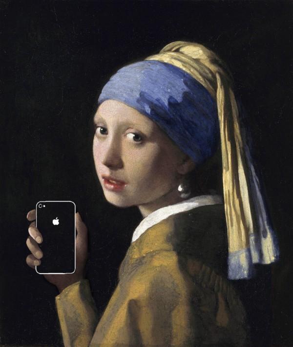 如果手機在一百年前就滿天飛,畫出來的話會是這樣3