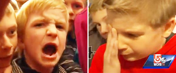 小學五年級的學生集體保護被欺負的小一同學