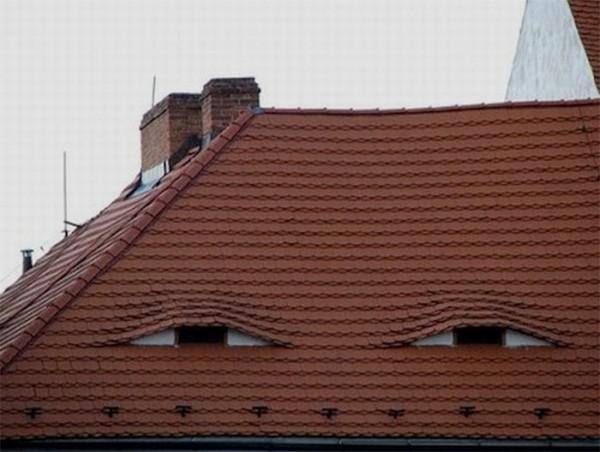 生活中意外出現的怪臉1