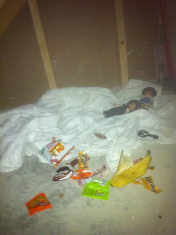 超毛!房間發現秘室,秘室裡有屋主的糖果和恐物的玩具6