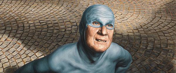 超級英雄面對自己老化...有股淡淡的哀傷