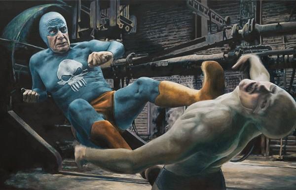 超級英雄面對自己老化...有股淡淡的哀傷1