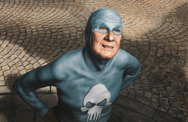 超級英雄面對自己老化...有股淡淡的哀傷11