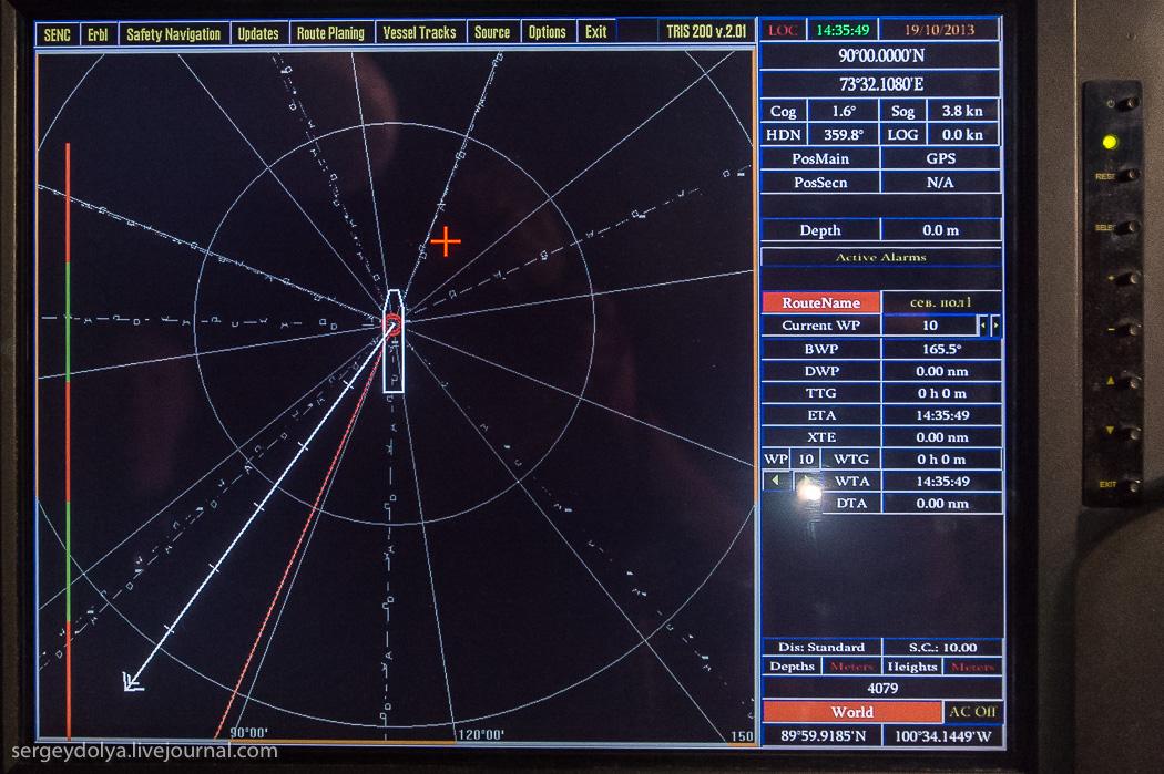距離目標只剩∞!北極夜晚的破冰船7
