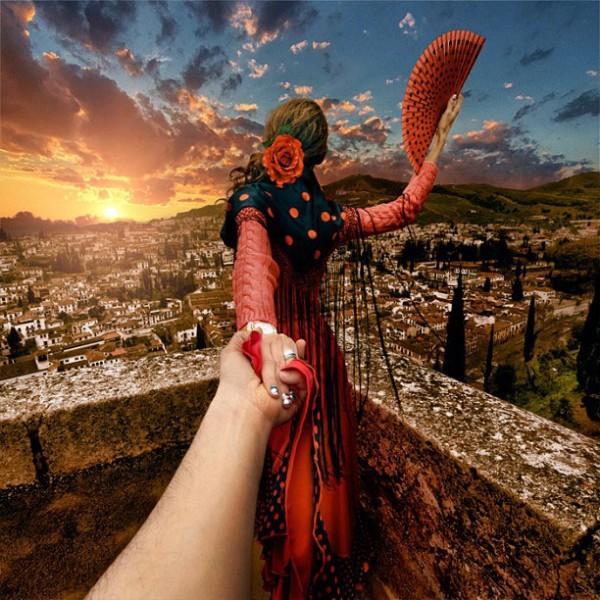 創意旅行!攝影師追著女朋友到世界各地1