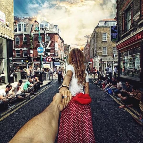 創意旅行!攝影師追著女朋友到世界各地10