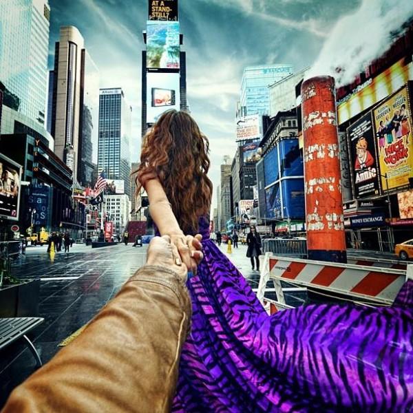 創意旅行!攝影師追著女朋友到世界各地12