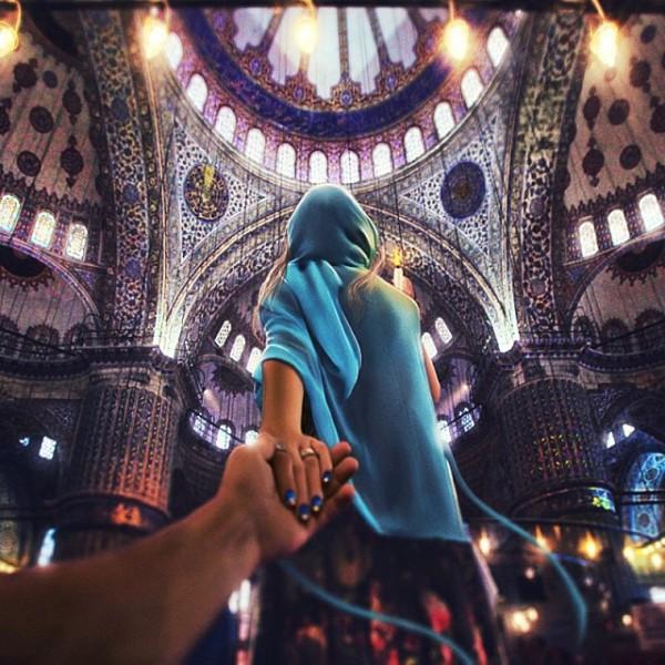 創意旅行!攝影師追著女朋友到世界各地14