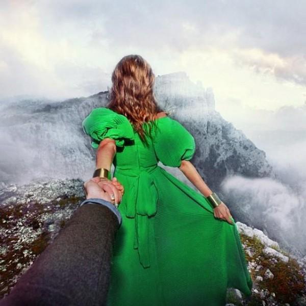 創意旅行!攝影師追著女朋友到世界各地15