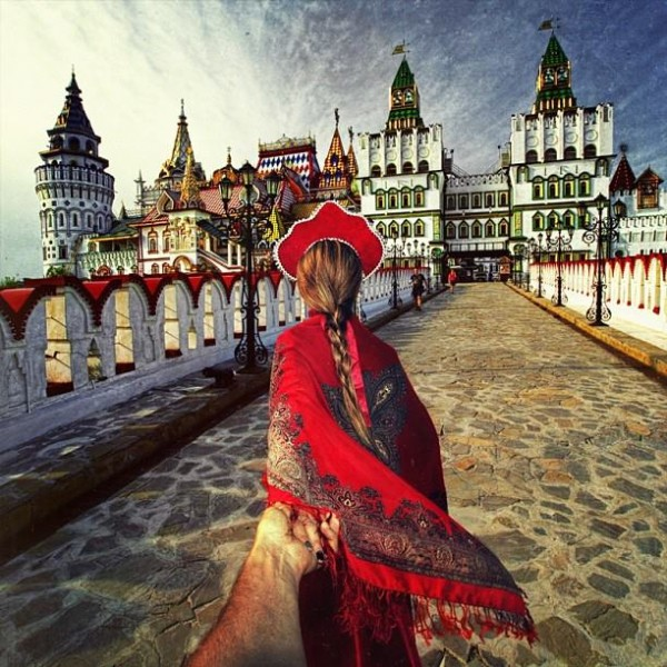 創意旅行!攝影師追著女朋友到世界各地3