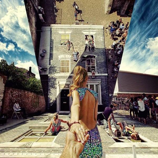 創意旅行!攝影師追著女朋友到世界各地6