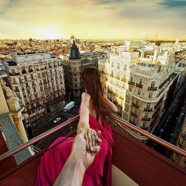 創意旅行!攝影師追著女朋友到世界各地7