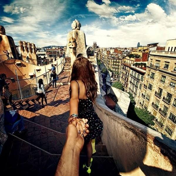 創意旅行!攝影師追著女朋友到世界各地8