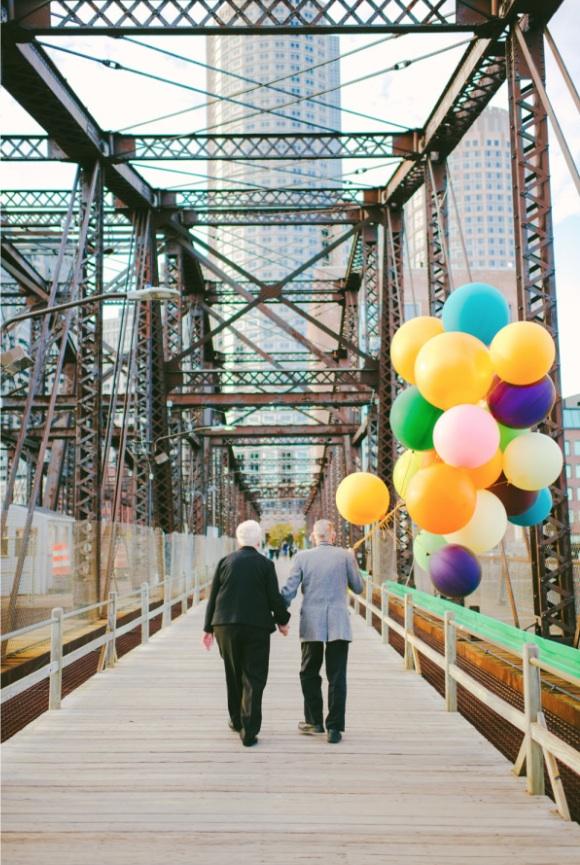 天外奇蹟結婚紀念照!拍的是結婚61年可愛阿公阿嬤12