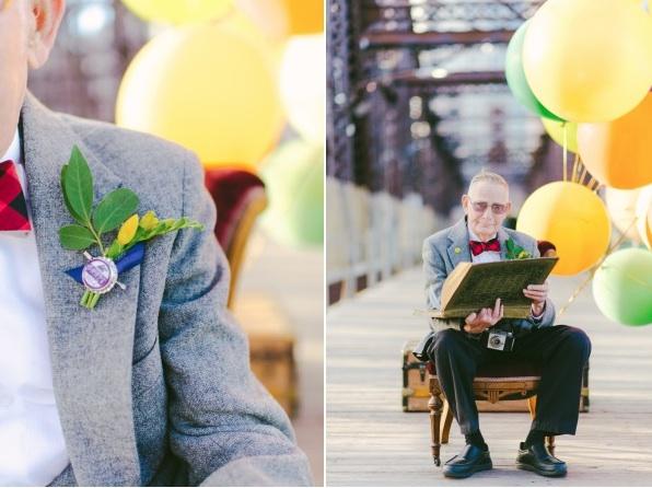 天外奇蹟結婚紀念照!拍的是結婚61年可愛阿公阿嬤13