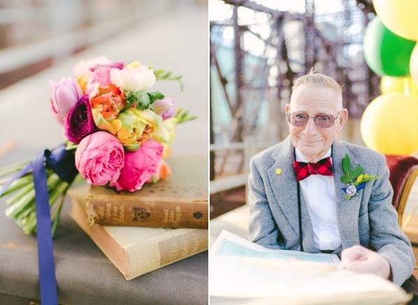 天外奇蹟結婚紀念照!拍的是結婚61年可愛阿公阿嬤2