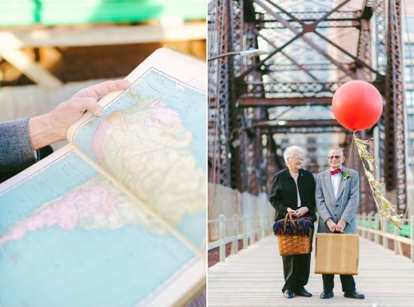天外奇蹟結婚紀念照!拍的是結婚61年可愛阿公阿嬤4