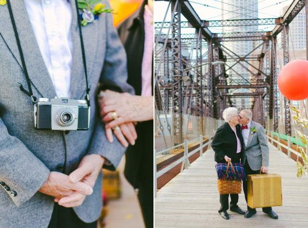 天外奇蹟結婚紀念照!拍的是結婚61年可愛阿公阿嬤6