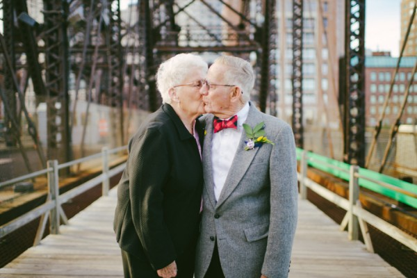 天外奇蹟結婚紀念照!拍的是結婚61年可愛阿公阿嬤7