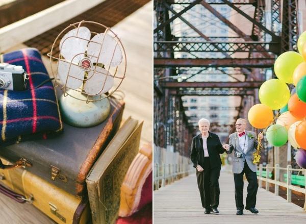 天外奇蹟結婚紀念照!拍的是結婚61年可愛阿公阿嬤8