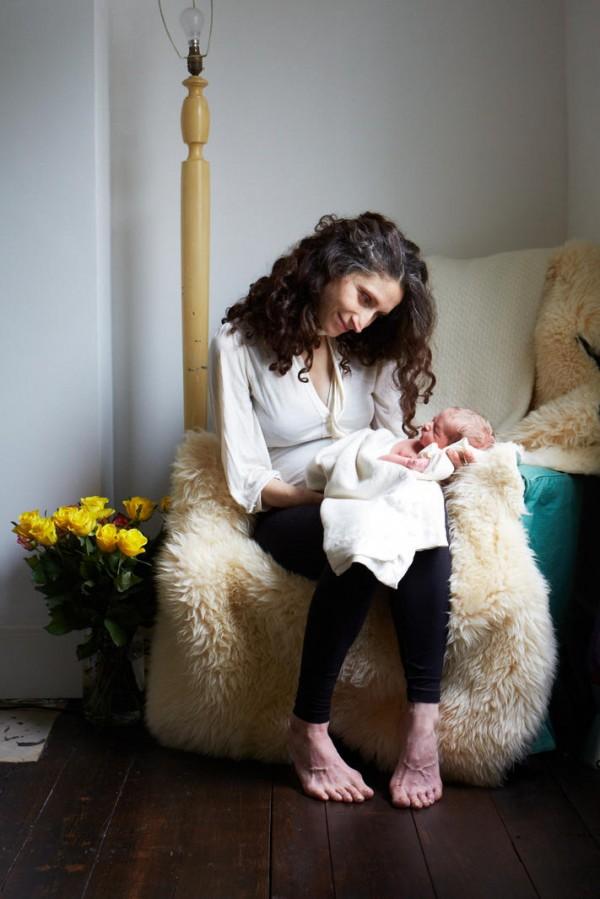 媽媽和新生一天大寶寶合照,只有感動9