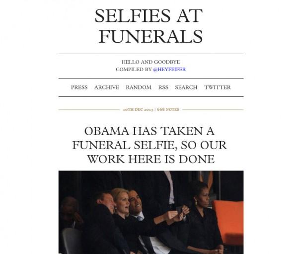 歐巴馬在喪禮上自拍!......你還好嗎?02
