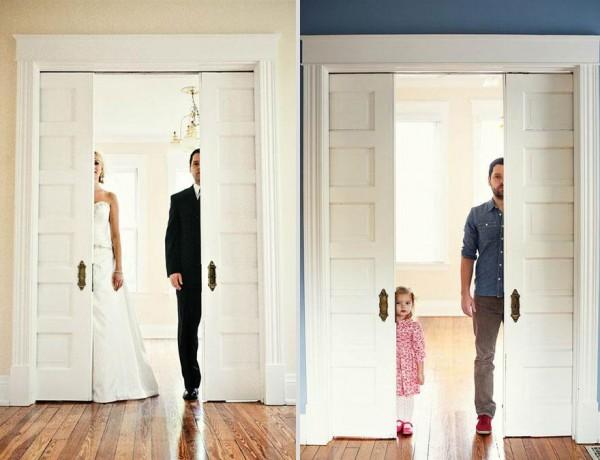 爸爸和女兒拍婚紗!背後的原因會讓你落淚1