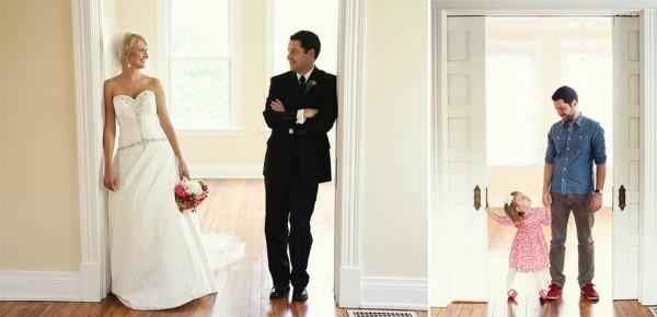 爸爸和女兒拍婚紗!背後的原因會讓你落淚12