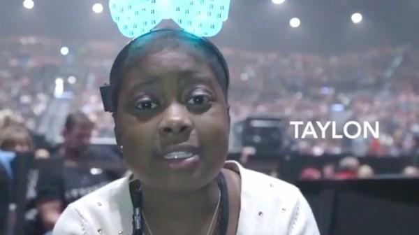 碧昂絲實現11歲腦癌女孩的最終願望...在演唱會上1