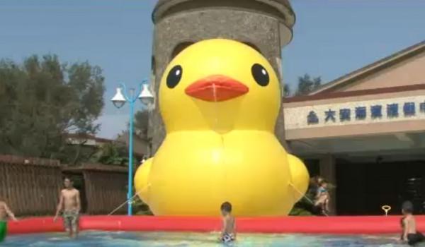 第一次侵權黃色小鴨就上手1