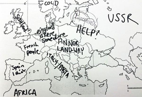美國人回答歐洲國家分布,好笑又慘不忍睹11