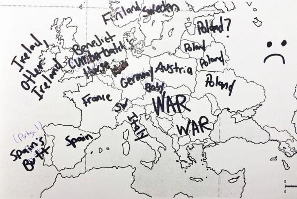 美國人回答歐洲國家分布,好笑又慘不忍睹2