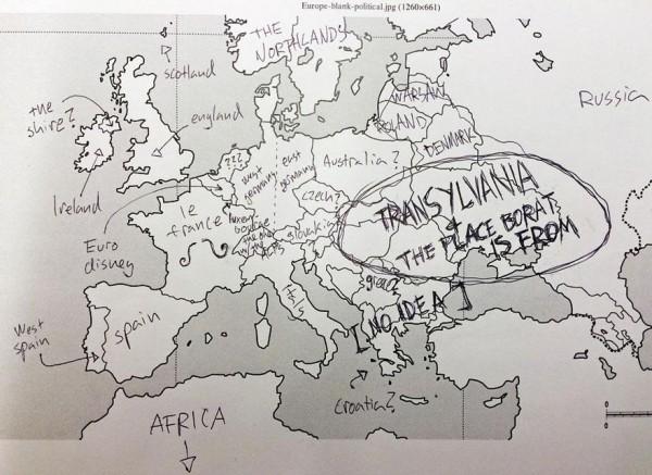 美國人回答歐洲國家分布,好笑又慘不忍睹3