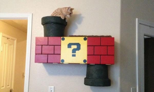 超級喵莉歐!貓鑽進瑪莉歐水管是世界上最美好的事1