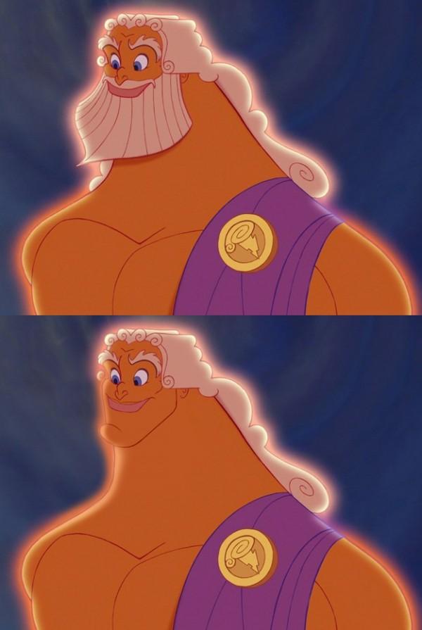 迪士尼裡的男人們失去鬍子,變很雞肋5