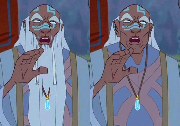 迪士尼裡的男人們失去鬍子,變很雞肋6